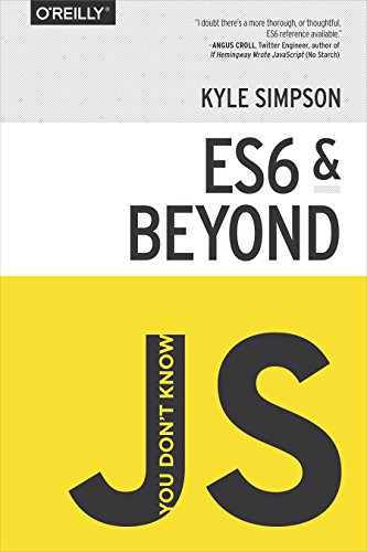 ES6 & Beyond by Kyle Simpson