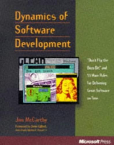 Dynamics of Software Development by Jim McCarthy