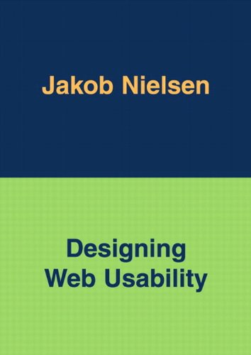 Designing Web Usability: The Practice of Simplicity by Jakob Nielsen