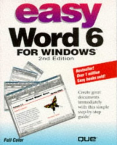 Easy Word for Windows by Trudi Reisner