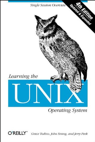 Learning the UNIX Operating System by Jerry Peek