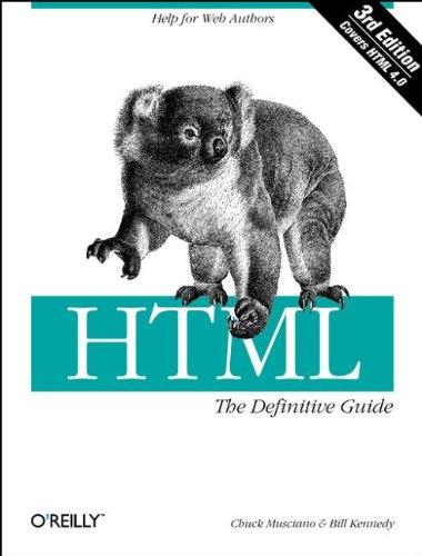 HMTL: Definitive Guide by Chuck Musciano
