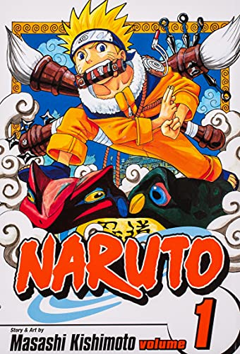 Naruto: v. 1: Tests of the Ninja by Masashi Kishimoto