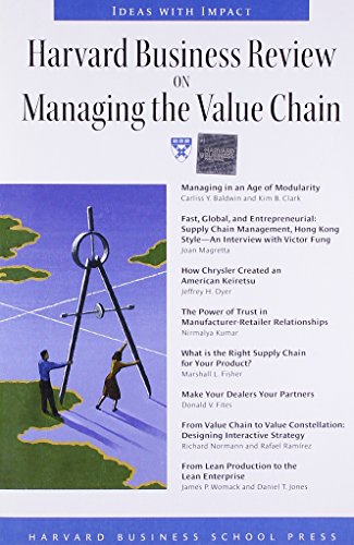 """Harvard Business Review"" on Managing the Value Chain by Harvard Business Review"
