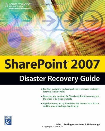 Sharepoint 2007 Disaster Recovery Guide by John Ferringer