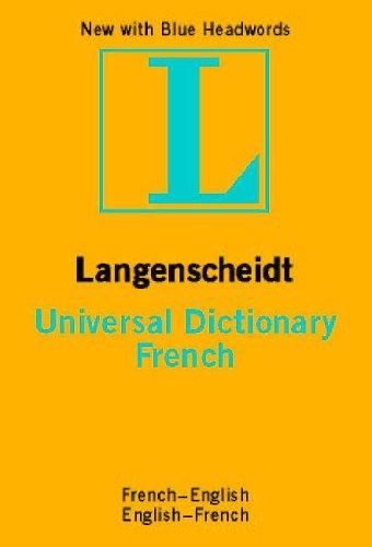 French Langenscheidt Universal Dictionary by Langenscheidt Editorial