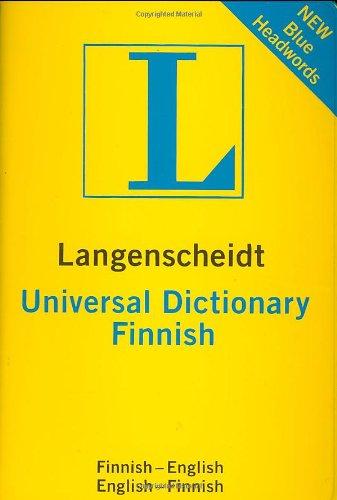 Finnish Langenscheidt Universal Dictionary by Langenscheidt Editorial