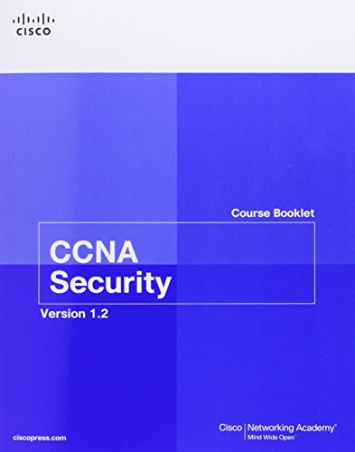 CCNA Security Course Booklet Version 1.2 by Cisco Networking Academy