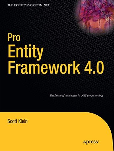 Pro Entity Framework 4.0 by James Wightman
