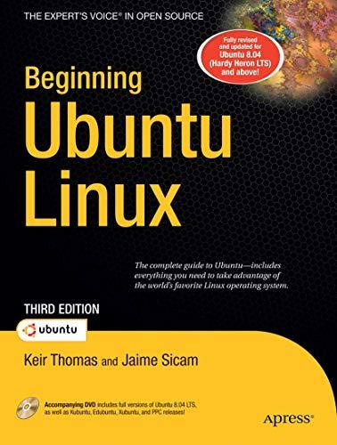 Beginning Ubuntu Linux: From Novice to Professional by Keir Thomas