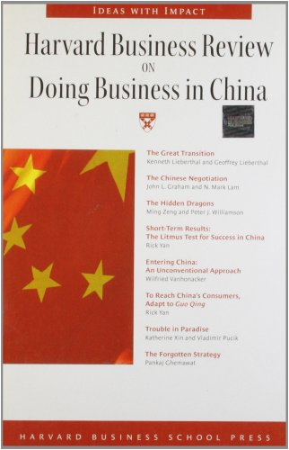 Harvard Business Review on Doing Business in China by Harvard Business School Press