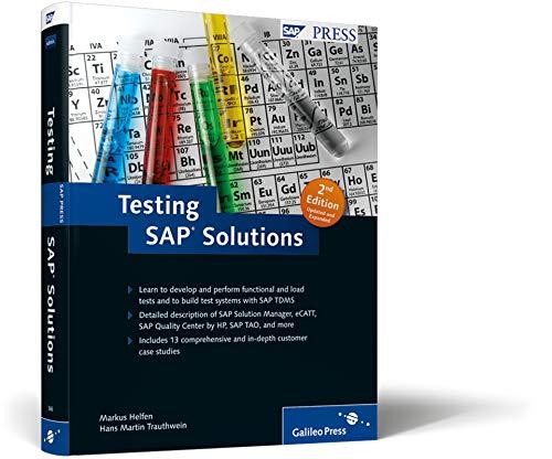 Testing SAP Solutions by Markus Helfen