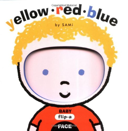 Baby Flip-a-face Yellow Red Blue by SAMi