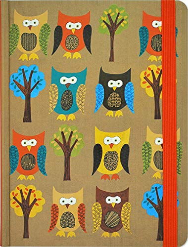 Journal Mid Owls by Peter Pauper Press