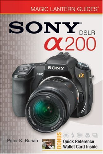 Sony DSLR A200 by Peter K. Burian