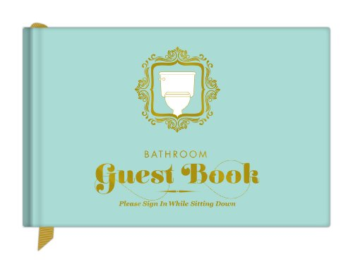 Bathroom Guest Book by Knock Knock