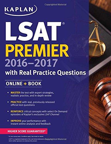 Kaplan LSAT Premier 2016-2017 by Kaplan Test Prep