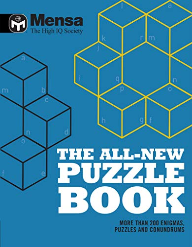 Mensa: The All-New Puzzle Book: More Than 200 Mensa-Derived Enigmas, Conundrums and Puzzles by Mensa