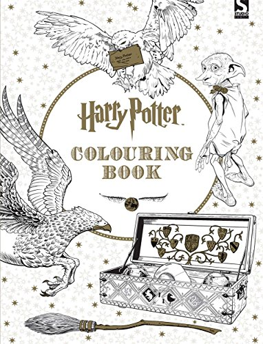 Harry Potter Colouring Book by Warner Brothers