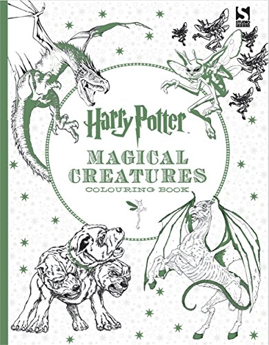 Harry Potter Magical Creatures Colouring Book by Warner Brothers