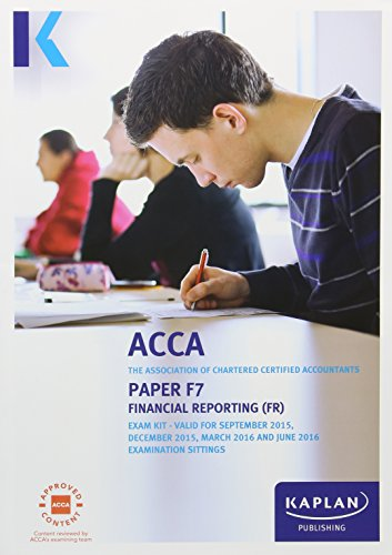 F7 Financial Reporting - Exam Kit by