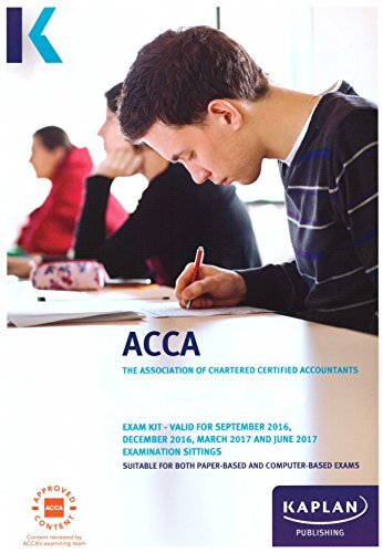 ACCA P4 Advanced Financial Management - Exam Kit by Kaplan Publishing