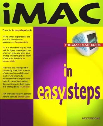 iMac in Easy Steps by Nick Vandome
