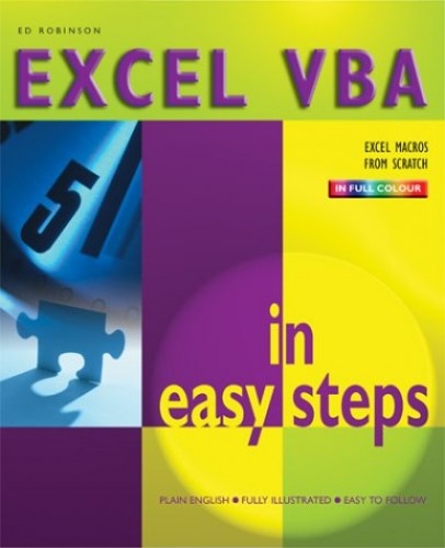 Excel VBA in Easy Steps by Ed Robinson