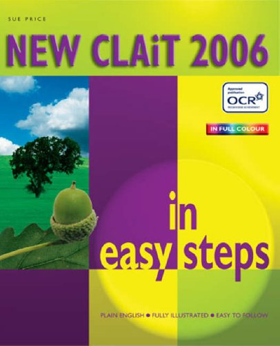 New Clait 2006 in Easy Steps by Sue Price