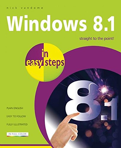 Windows 8.1 in Easy Steps by Nick Vandome
