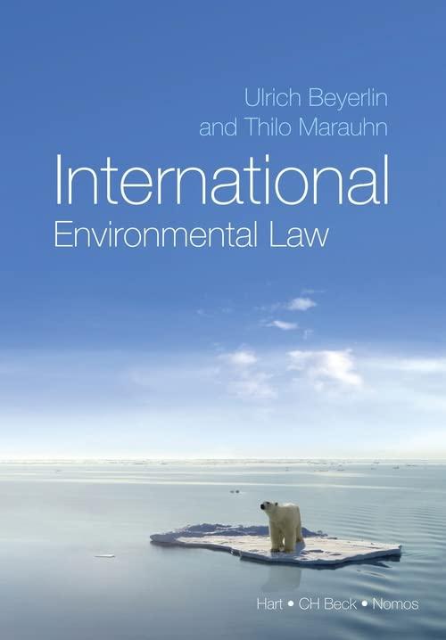 International Environmental Law by Thilo Marauhn