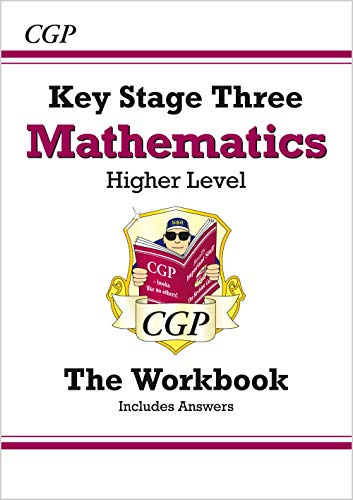 KS3 Maths Workbook (with Answers and Online Edition) - Higher by CGP Books