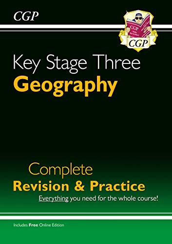 KS3 Geography Complete Study & Practice (with Online Edition) by CGP Books