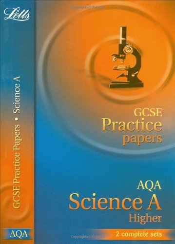 GCSE Practice Papers AQA Science Higher by