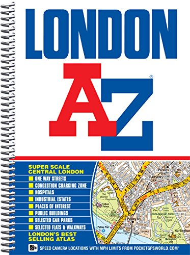 London Street Atlas by Geographers' A-Z Map Company