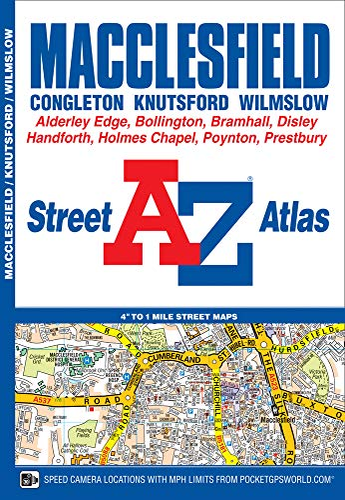 Macclesfield Street Atlas by Geographers' A-Z Map Company