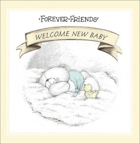 Forever Friends: Welcome New Baby by Michael Johnstone