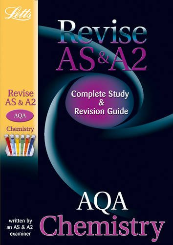 Letts A Level Success: AQA AS and A2 Chemistry: Study Guide by Rob Ritchie