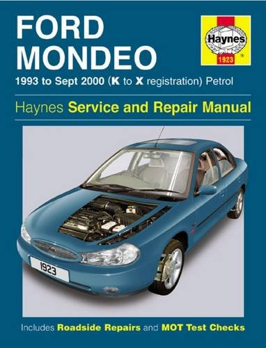 Ford Mondeo Service and Repair Manual: 1993 to Sept 2000 (K to X Reg) by Jeremy Churchill