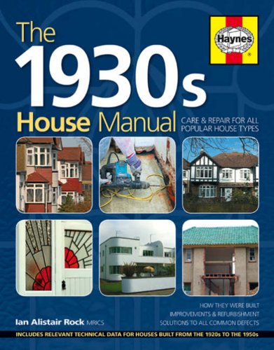 The 1930s House Manual by Ian Rock