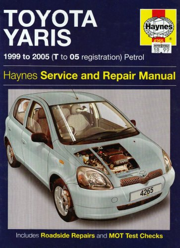 Toyota Yaris Petrol Service and Repair Manual: 1999 to 2005 by R. M. Jex
