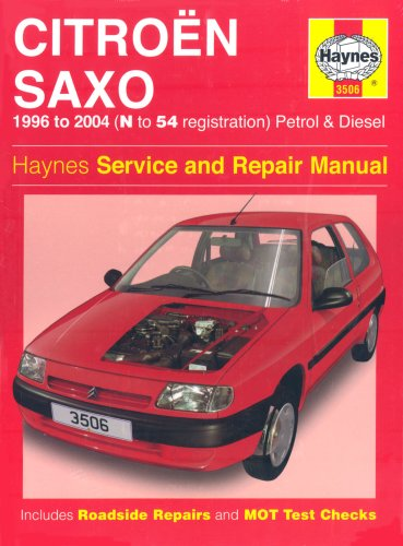 Citroen Saxo Petrol and Diesel Service and Repair Manual: 1996 to 2004 by Spencer Drayton