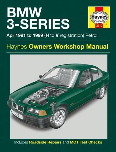 BMW 3-series Petrol Service and Repair Manual: 1991 to 1999 by Mark Coombs