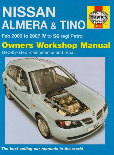 Nissan Almera and Tino Petrol Service and Repair Manual by Peter T. Gill