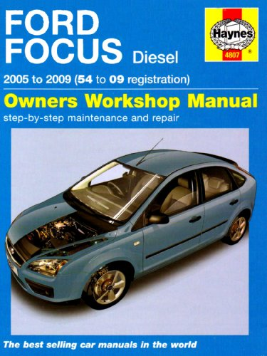 Ford Focus Diesel Service and Repair Manual: 2005 to 2009 by Martynn Randall