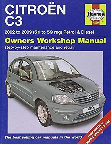 Citroen C3 Petrol & Diesel Service and Repair Manual: 2002-2009 by John S. Mead