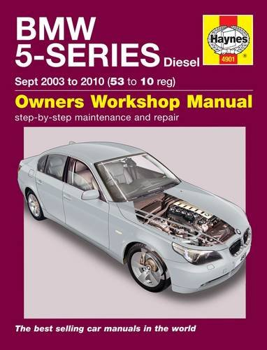 BMW 5-Series Diesel Service and Repair Manual: 2003 to 2010 by Martynn Randall