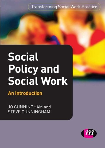 Social Policy and Social Work: An Introduction by Jo Cunningham
