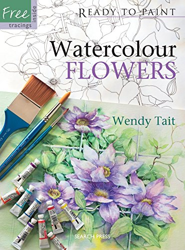 Watercolour Flowers by Wendy Tait