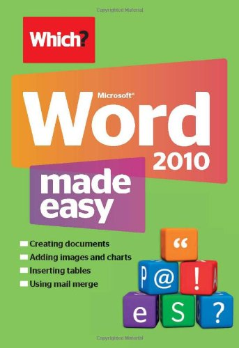 Microsoft Word 2010 Made Easy by Lynn Wright